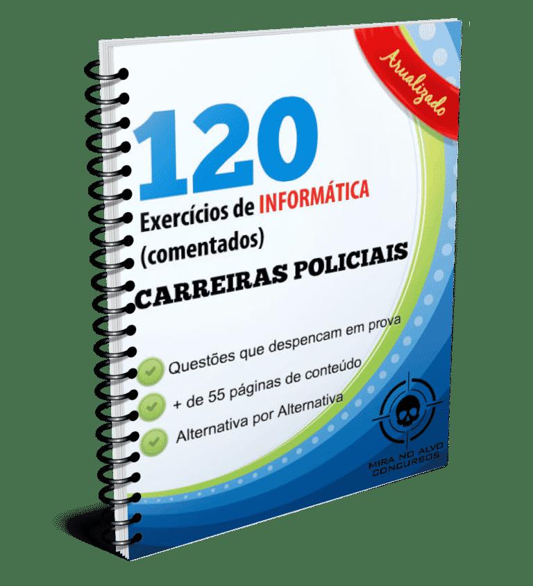 Informática - 120 questões COMENTADAS 1