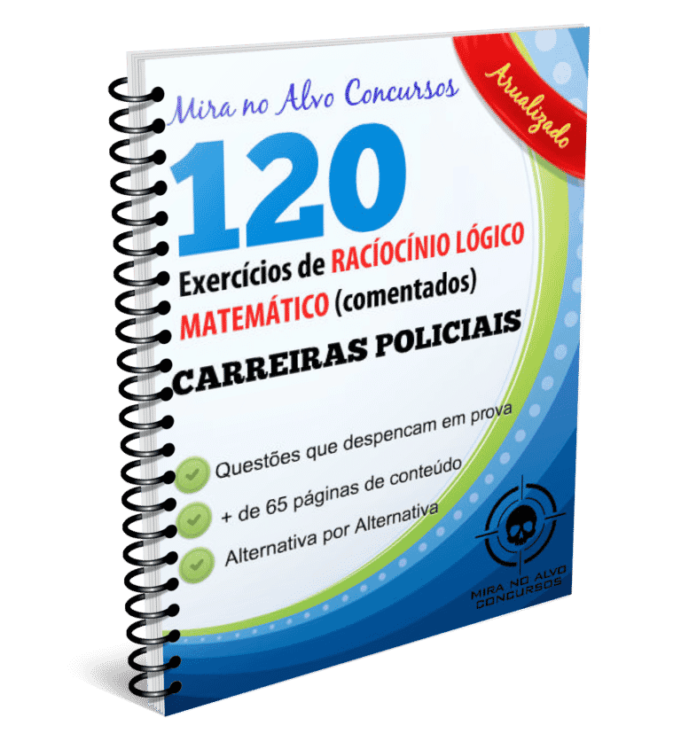 Raciocínio Lógico Matemático - 120 questões COMENTADAS 1