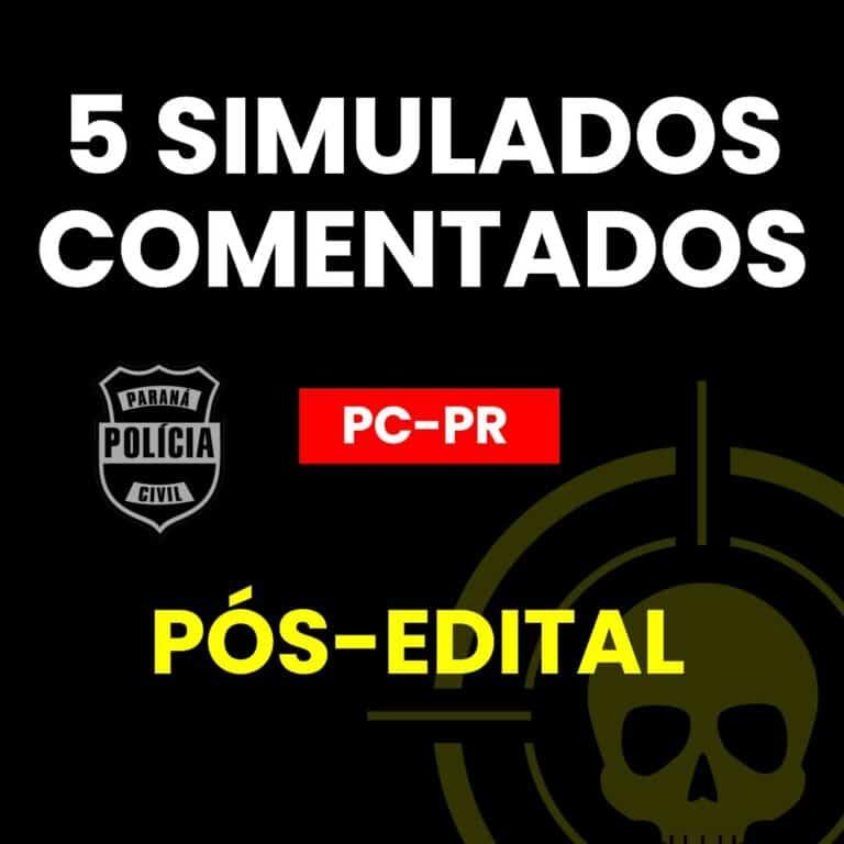 5 Simulados PÓS-EDITAL PCPR 1