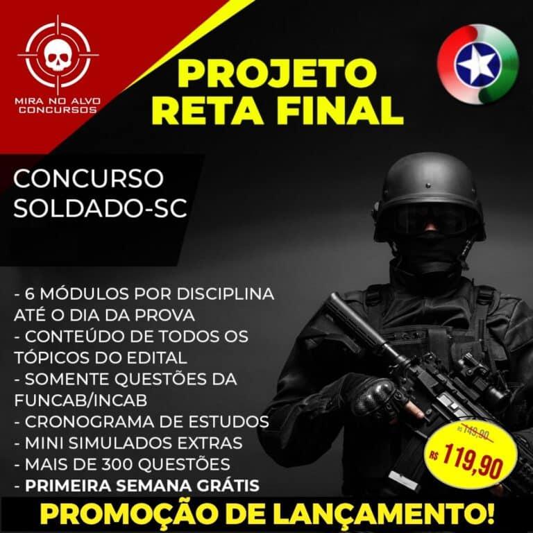Projeto Reta Final PM-SC 1