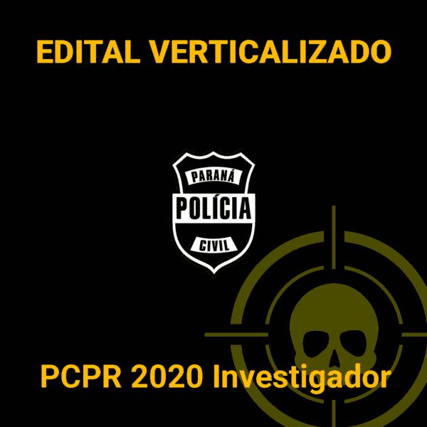 Edital Verticalizado Mira no Alvo - PCPR 2020 Investigador 1