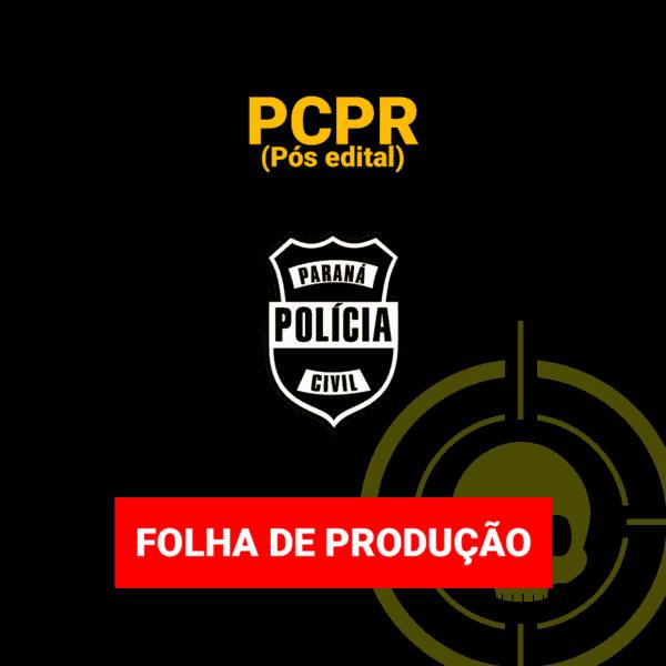 Folha de Produção - PCPR - Pós edital 1