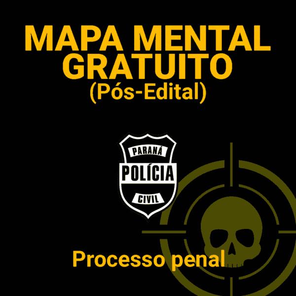 Mapa Mental Gratuito Processo Penal 1