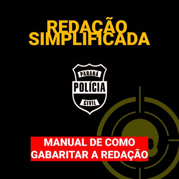 (Versão Grátis) Redação Simplificada - Manual de como gabaritar a redação 1