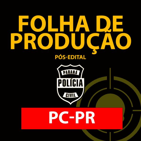 Folha de produção PCPR - Pós Edital [Versão teste   Gratuito] 1