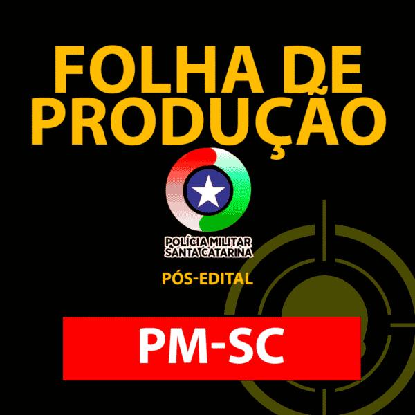 Folha de produção PMSC (grátis) 1