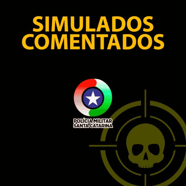 PMSC Simulado Comentado 01 (grátis) 1